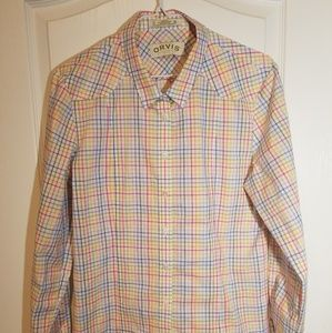 ORVIS LONG SLEEVE BUTTON DOWN SZ 12
